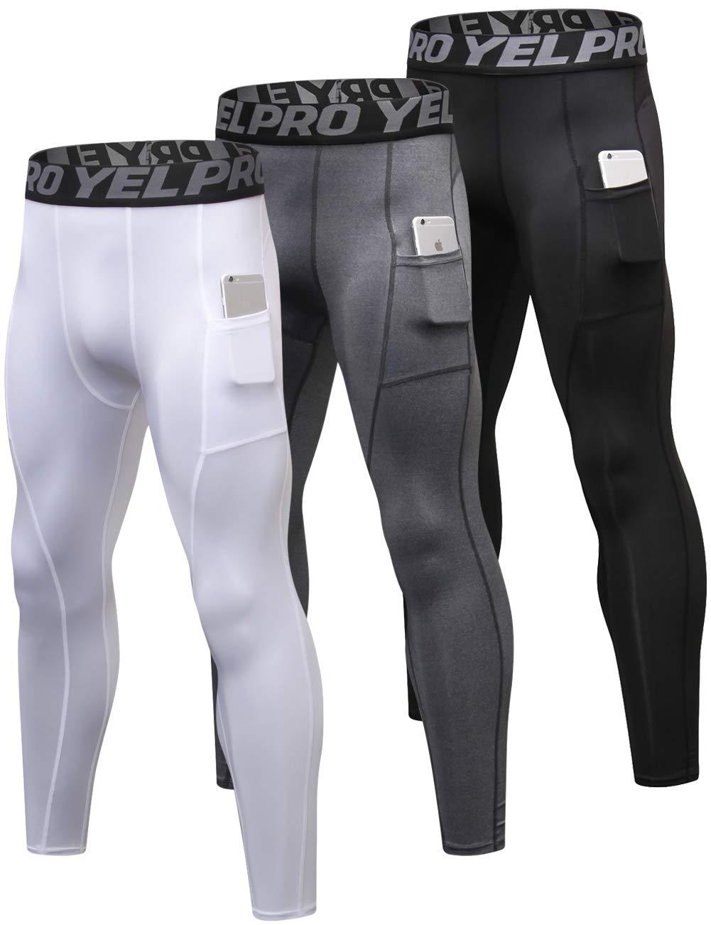 新版 Lavento メンズ コンプレッションパンツ ベースレイヤー クールドライポケット ランニング アンクルレギンス ランニング Medium アクティブタイツ B07MQDSGCP Black/Gray/White 3 Pack-3911 Black/Gray/White Medium Medium 3 Pack-3911 Black/Gray/White, SUBRISKY(サブリスキー):e7709486 --- arianechie.dominiotemporario.com