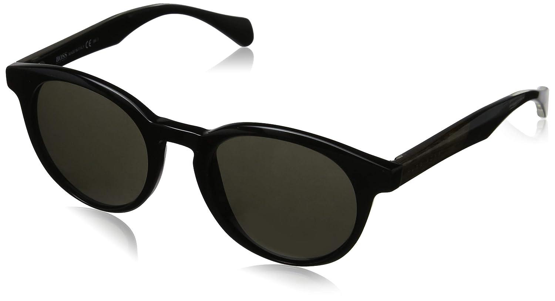 BOSS Hugo 0912/S NR 1YS Gafas de sol, Negro (Black Cryblck/Brw Grey), 50 Unisex-Adulto