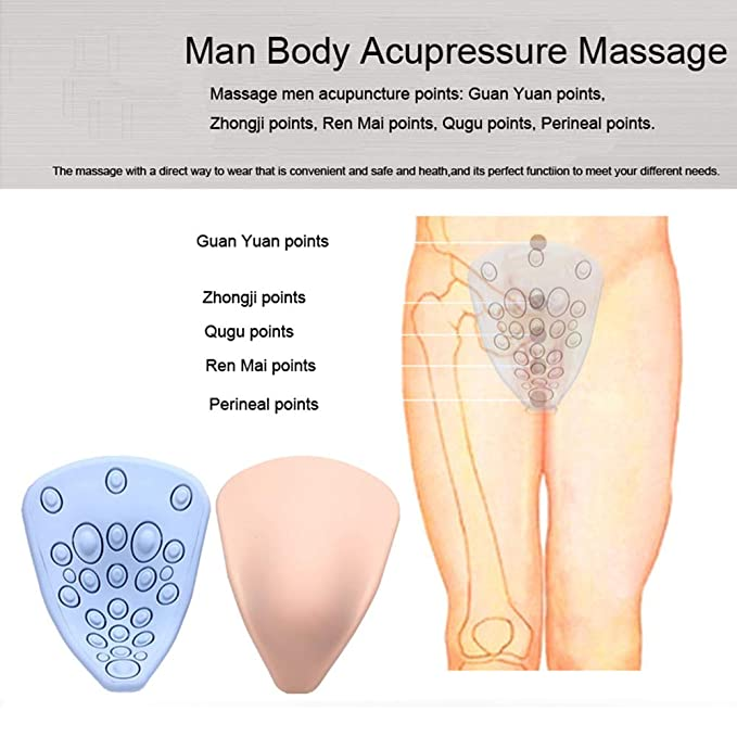 Salud De Los Hombres Fisioterapia Shiatsu Eléctrico Cinturón ...