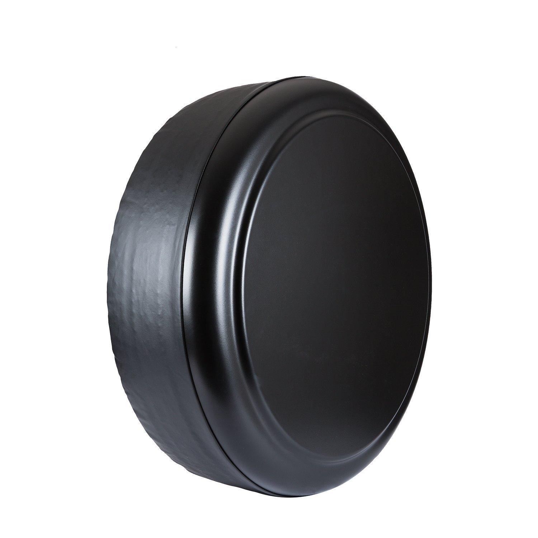 Jeep Wrangler (JK) - 32' Rigid Tire Cover (Plastic Face & Vinyl Band) - Black Textured?