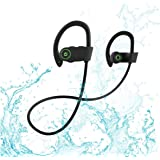 Bluetooth Headphones HD Stereo Wireless Earbuds Compatible with iPhone XS X 8 Plus 8 7 Plus 7 and Samsung Bluetooth Earphones
