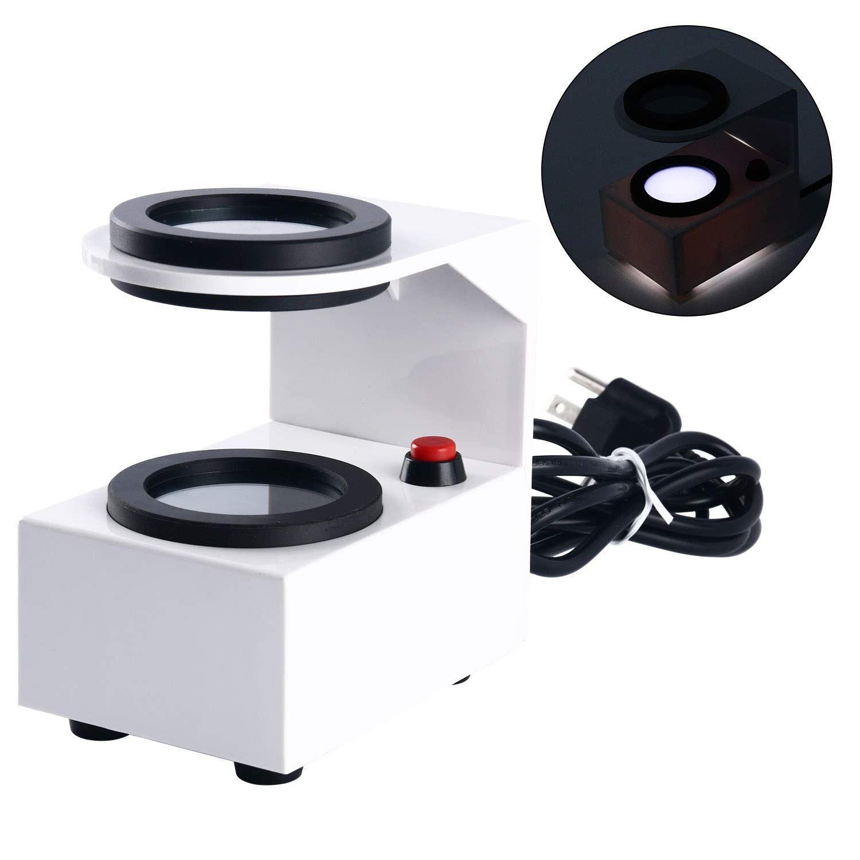 Optical Lens Stress Tester Polarizing Strain Gauge Eyeglass Lens Strain Gauge Stress Meter Tester by YaeCCC