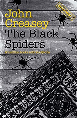 book cover of The Black Spiders