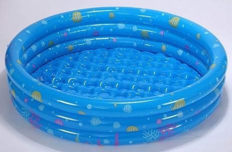 CHHD Piscina Hinchable RÁPIDO Colocación Simple Configuración Simple Centro de natación Salón Familiar Redondo Inflable Piscina Infantil Piscina Interior y Exterior para niños y Adultos 130 * 40: Amazon.es: Deportes y aire libre