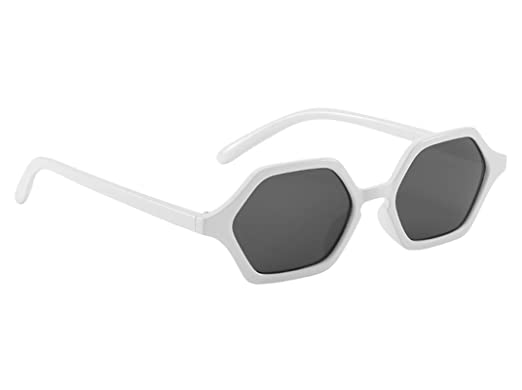 ANAZOZ Gafas de Sol Lente Blanco Gafas de Sol Mujer UV400 ...