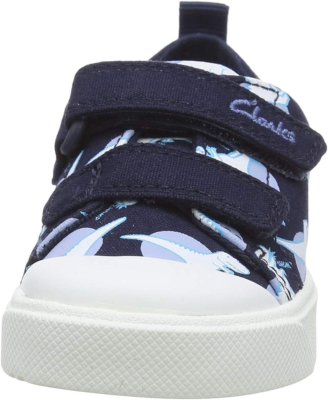 Sneakers Basses Mixte Enfant Clarks City Bright T
