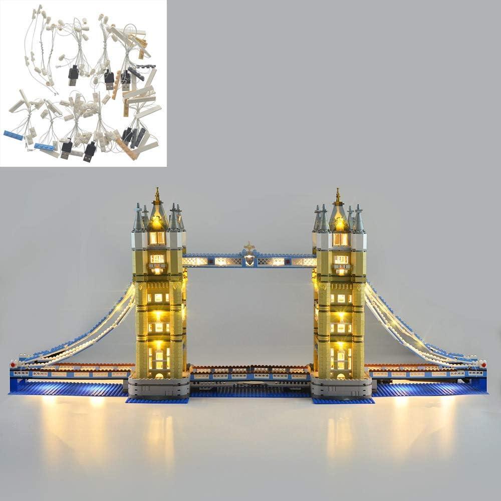 Lego Set NOT Included 10214 LED Lighting Kit for Lego Tower Bridge