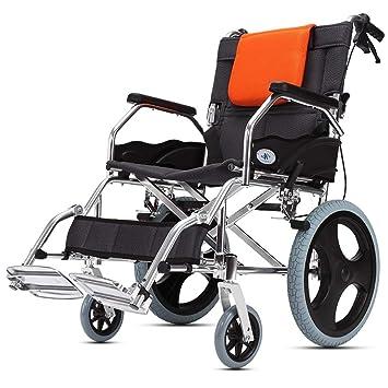 DPPAN Drive Medical Transport Silla de ruedas Plegado ligero para adultos, reposapiés elevadores de aleación