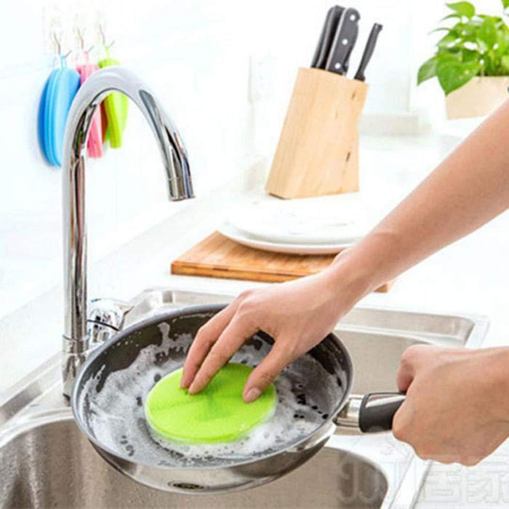 Anstsy Herramienta de Limpieza de Cocina en casa Cepillos