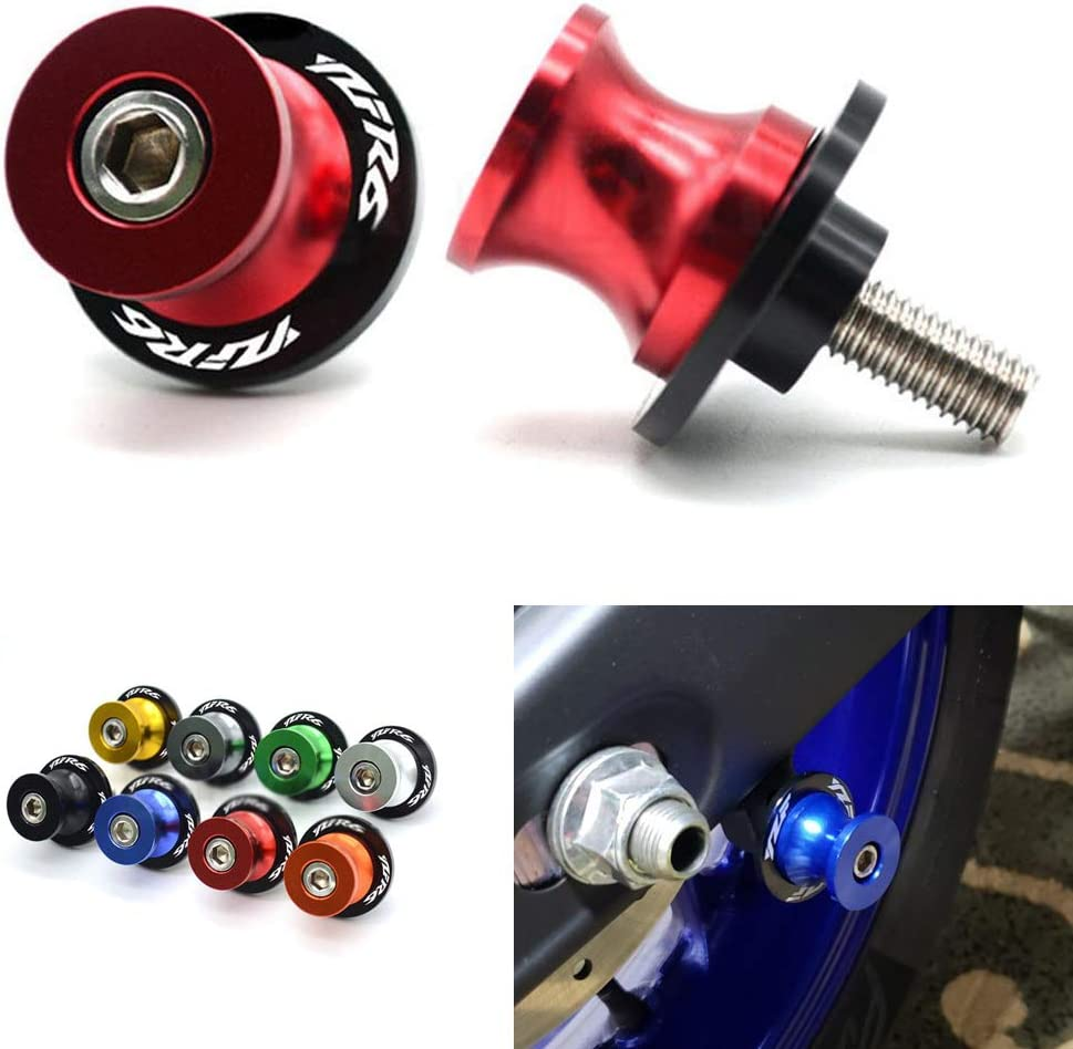 Red for 1999-2018 Yamaha YZF R6 Volar Swingarm Spools Sliders