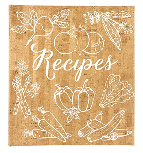 Eccolo World Traveler Cork Vegetables Recipe Keeper by Eccolo World Traveler