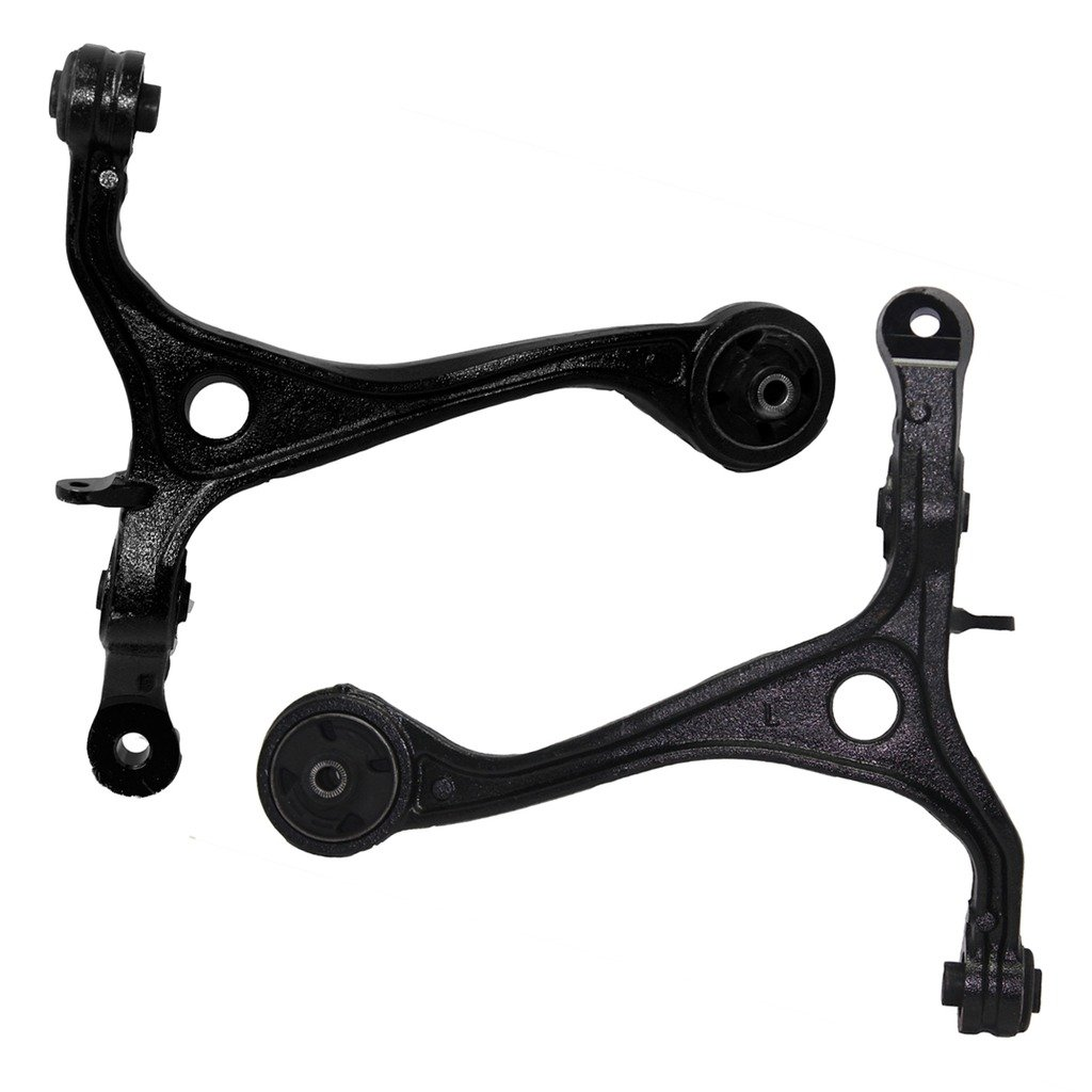 Detroit Axle - Both (2) Front Lower Driver & Passenger Side Control Arm Assembly for 2004-2008 Acura TSX - [2003-2007 Honda Accord]