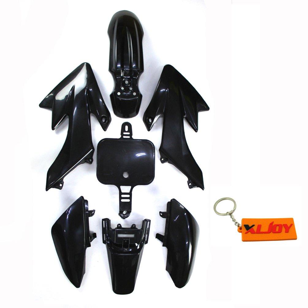 XLJOY CRF50 XR50 Fairing Plastic Fender Kit For Piranha SSR Thumpstar Stomp SDG GPX Pit Bike