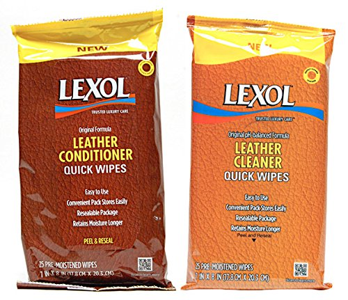 Lexol Quick-Wipes Cleaner and Conditioner