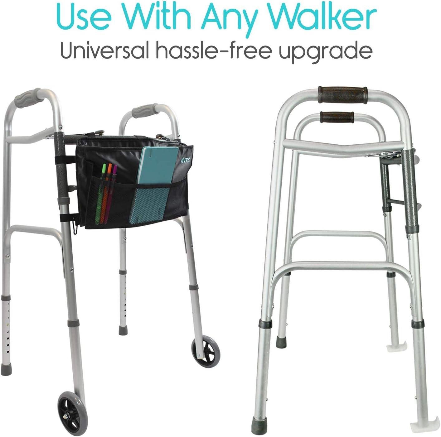 Amazon.com: Vive Walker - Ruedas y deslizadores de esquí ...
