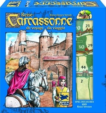 Schmidt Spiele Hans en Suerte 48170 – – Carcassonne Juego de Viaje.: Amazon.es: Juguetes y juegos