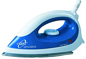 25bcb0ccf17 Buy Orpat OEI-157 1000-Watt Dry Iron (Blue) Online at Low Prices in ...