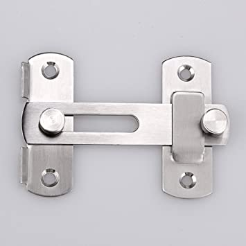 Sumnacon Stainless Steel Safety Door Latches Solid Gate Latches/Lock for Pet Gate : window latches amazon - pezcame.com