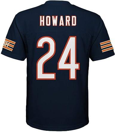 Jordan Howard Chicago Bears #24 Navy Blue Youth Home Mid Tier Jersey