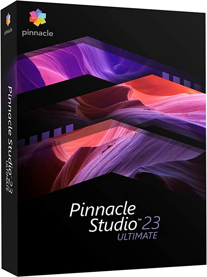 Pinnacle Studio 22 Ultimate Video Editing Suite for PC PC Disc