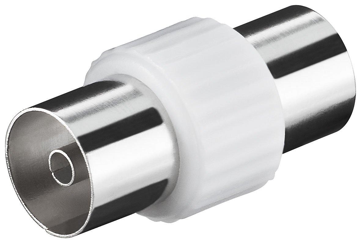 Antennenadapter Koax Adapter Buchse-Buchse 2x IEC-Kupplung 10 St/ück Verbinder Koaxial Buchse auf Koaxial Buchse