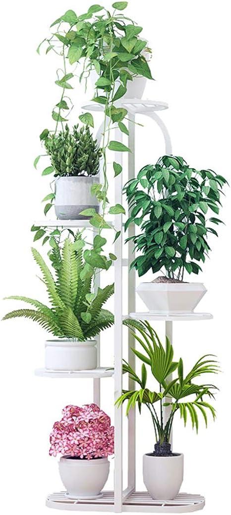 Dittzz Estantería para Plantas de Metal Soporte de Flores con ...