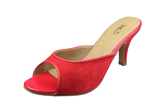 8c517997131e Inc.5 Women Red Velvet Fashion Sandals (28102 RED 9UK) - 9 UK  Buy Online  at Low Prices in India - Amazon.in