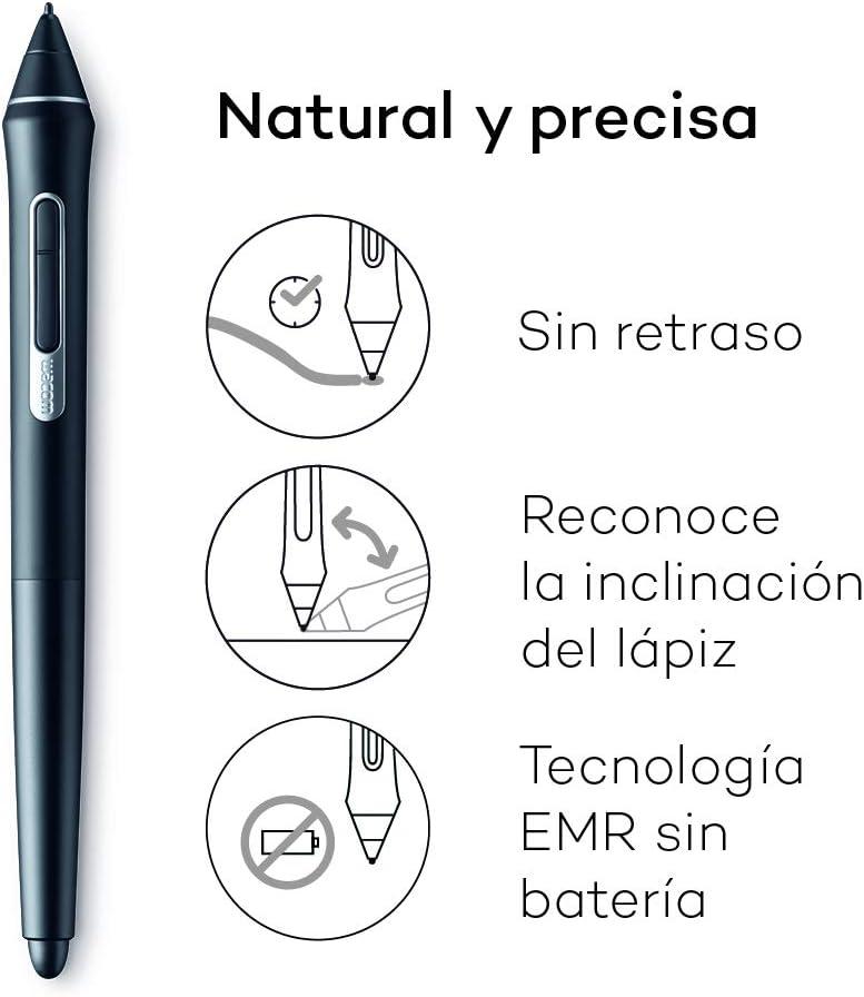 Wacom Cintiq 16 - Monitor Interactivo y bolígrafo Wacom Pen Pro 2 ...