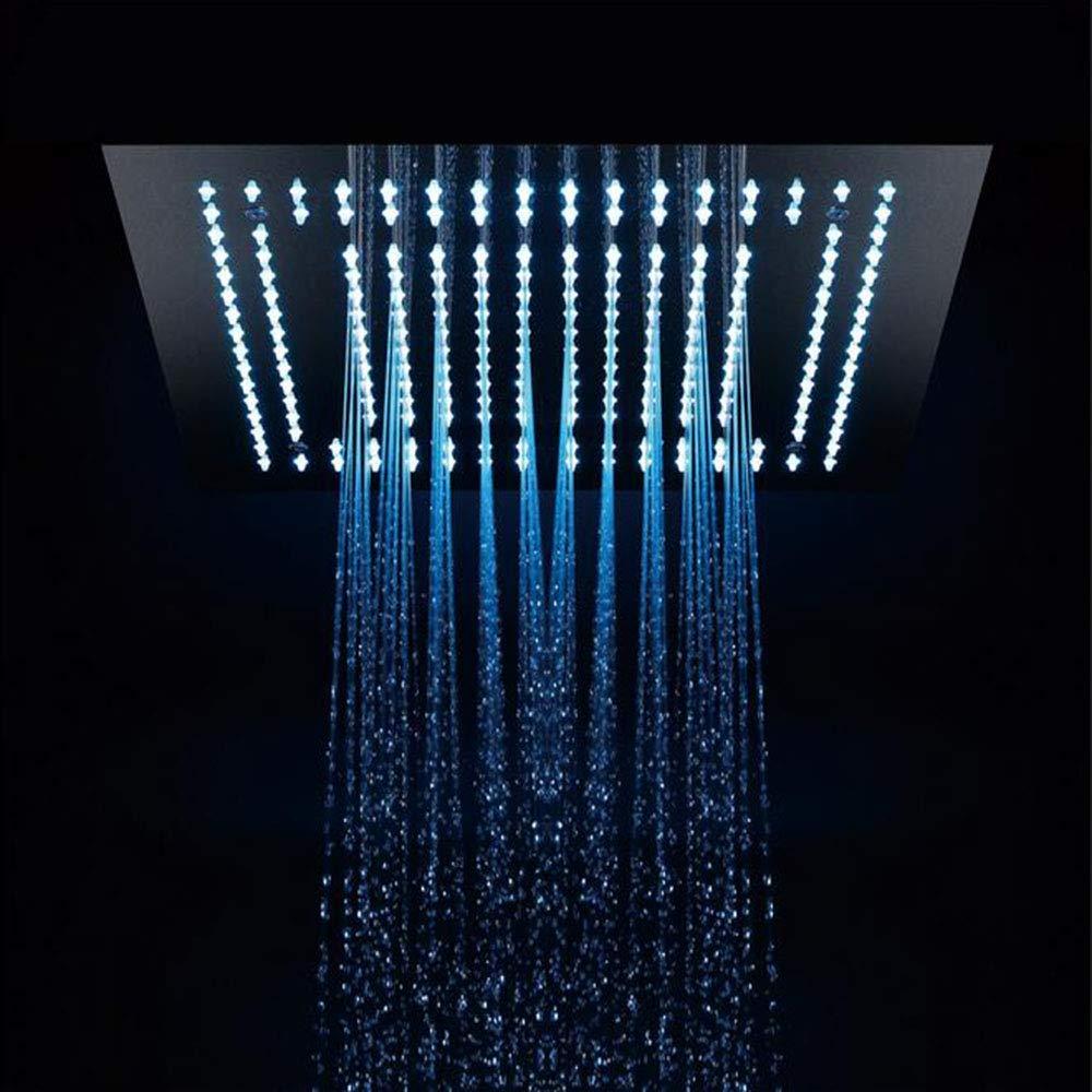 シャワー蛇口高級シャワーシステムスイッチ多層電気メッキプロセスシャワーヘッド壁掛けシャワーシステム B07QWKFL7G