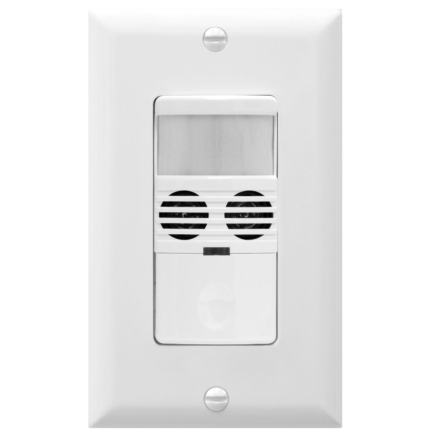 Best Rated In Motion Activated Wall Switches Helpful Customer Lighting Wiring Light Switch With Neutral Zwave Home Enerlites Mwos W Sensor Ultrasonic And Pir Dual Technology Occupancy