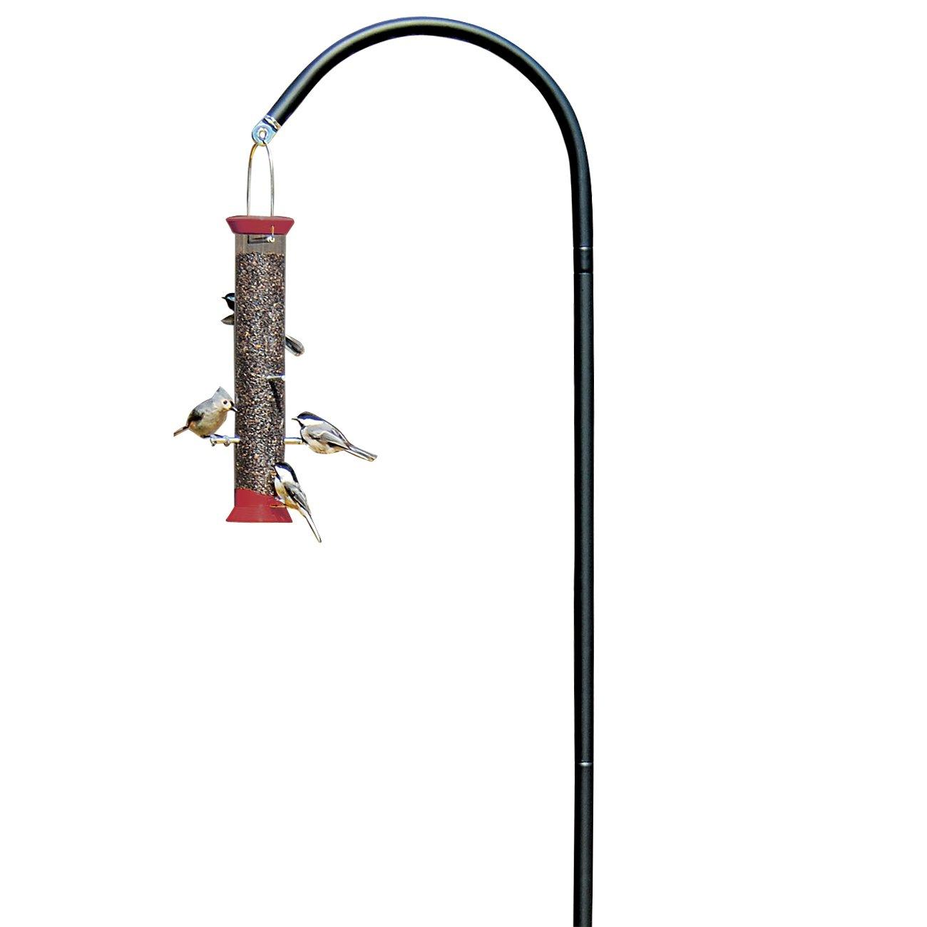Droll Yankees Shepherd Hook, Bird Feeder Hanger Pole Outdoor Hanging Metal Stand, 77 Inch, Black, SEP by Droll Yankees (Image #2)
