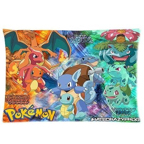 Hot Sale Custom Pokemon Poster Zippered Pillow case(Fundas ...