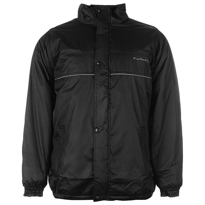 tienda oficial Donde comprar comprar Pierre Cardin - Abrigo - para Hombre Negro Negro: Amazon.es: Ropa ...