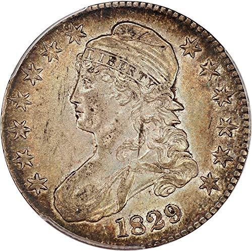 1829 P Bust Half Dollars Half Dollar AU55 PCGS\CAC