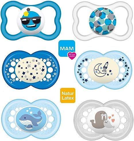 Mam Day & Night//látex//Original Chupete & Air Chupete//16 + Mo ...