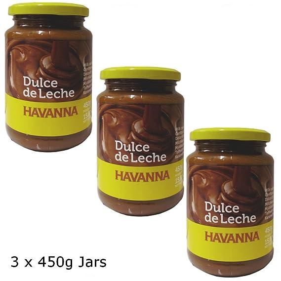 Dulce de Leche Havanna 450g (paquete de 3) : Amazon.es: Alimentación y bebidas