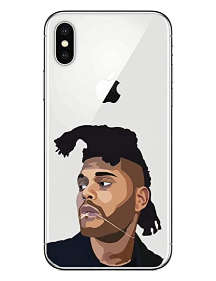 Amazon com: Singer The Weeknd Phone Case for iPhone Starboy