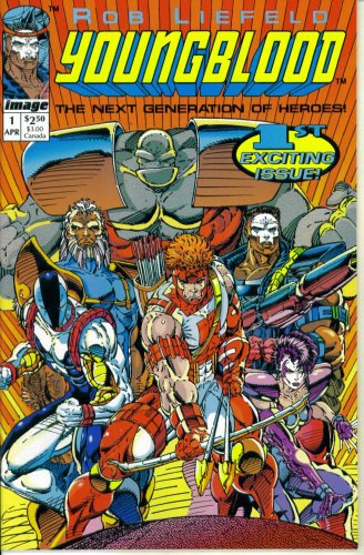 youngblood comic 1 - 1
