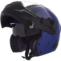 Capacete Mixs Captiva Street Rider 56 Azul