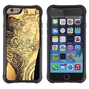 iKiki Tech / Estuche rígido - Tattoo Ink Body Art Goddess Ancient Arm - Apple iPhone 6