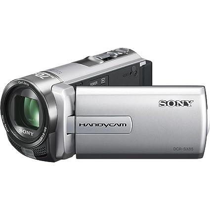 amazon com sony dcr sx85 handycam camcorder silver camera photo rh amazon com sony handycam dcr-sx85 owners manual sony handycam dcr sx85 instruction manual