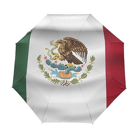 Amazon.: super3Dprinted Mexico Flag UPF 50+ Anti UV Parasol