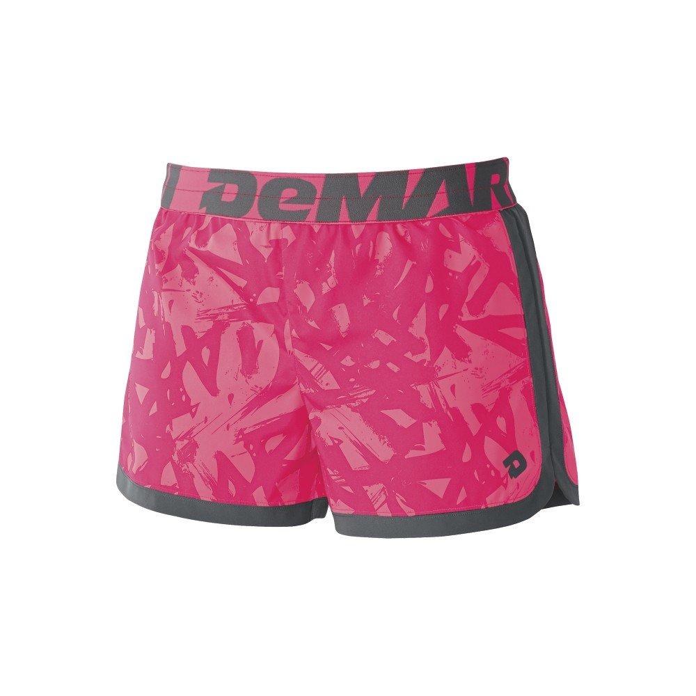 DeMariniレディースyard-workトレーニングshort-印刷 B00LO9NKJ4 M|Hot Pink/print Hot Pink/print M