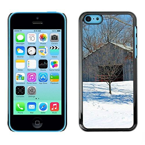 Premio Sottile Slim Cassa Custodia Case Cover Shell // F00025449 Stable // Apple iPhone 5C