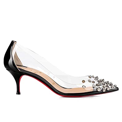 the latest f78da 9ca6a Amazon.com | Christian Louboutin Women's 1190959BK65 Black ...