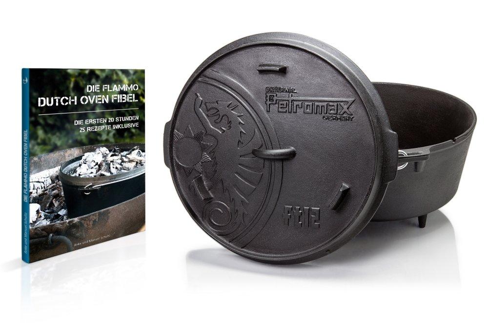 Petromax Feuertopf ft12 mit flammo Dutch Oven Fibel