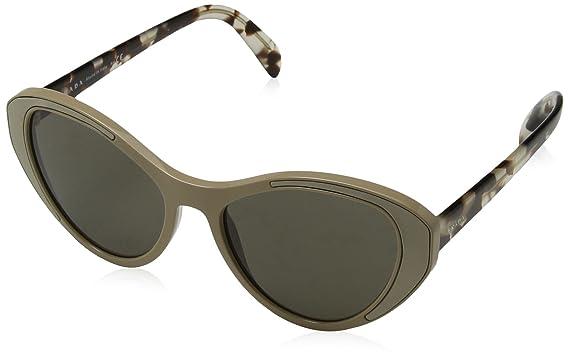 e1a17a8e568c Amazon.com: Prada Women's PR 14US Sunglasses 55mm: Clothing