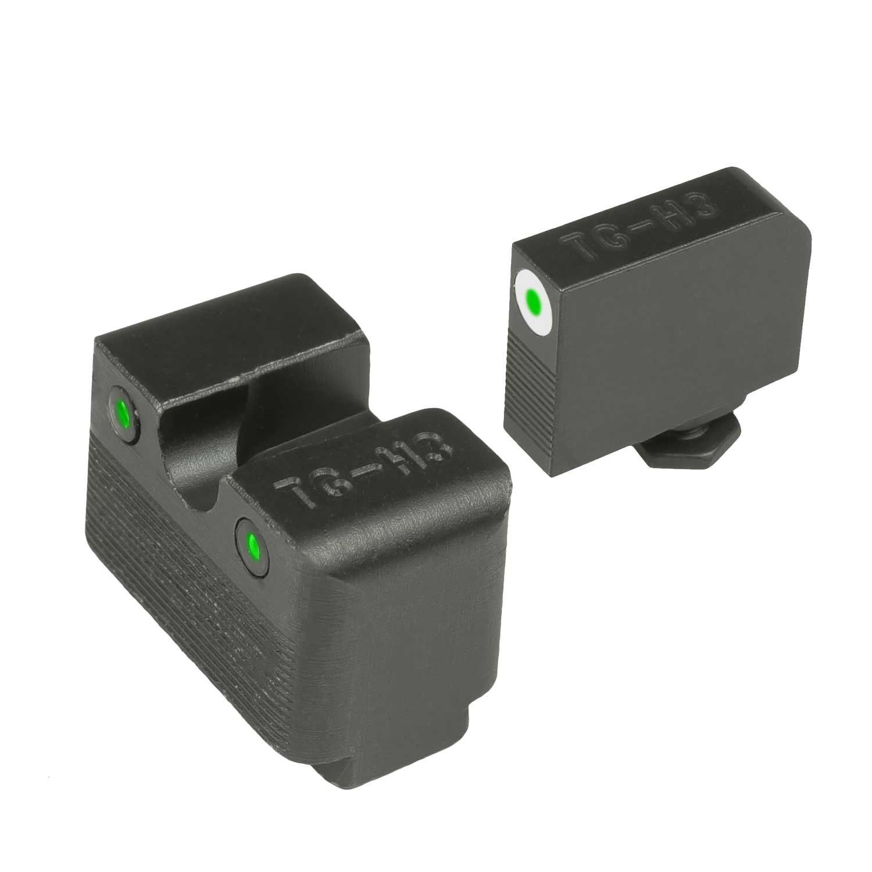 TRUGLO TG231G2MW Tritium Pro Handgun Sight - Glock Hi MOS .30-06 Outdoors