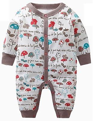 Kookoohouse Winter California 100% Cotton 2-Layer Cool Weather Baby Pajamas  Sleeper (3