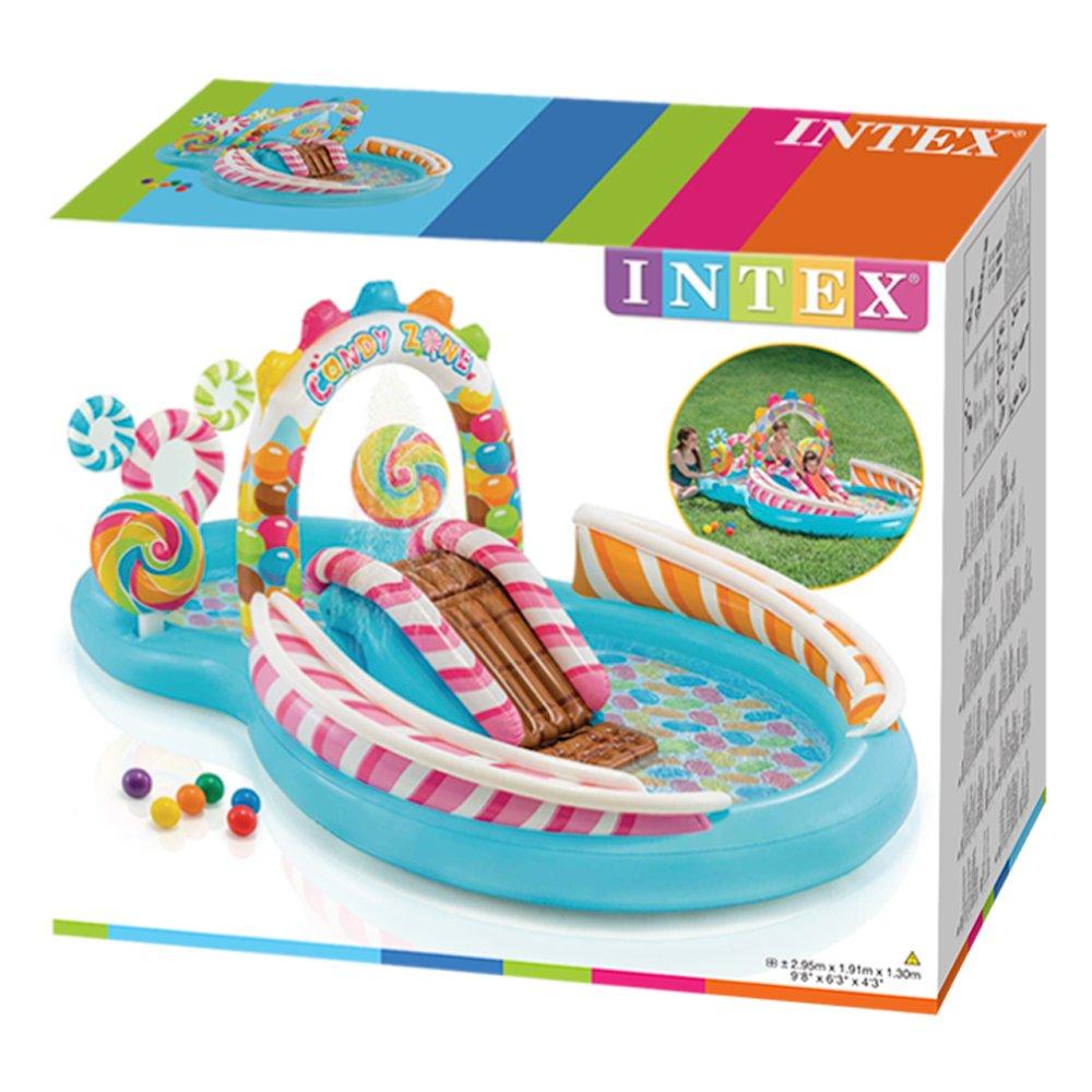 Intex 57149NP Centro de juegos hinchable Candy Zone 295 x 191 x 130 cm